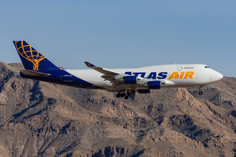 Atlas 747-400F - N472MC - LSV