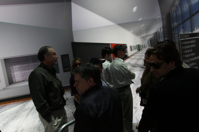 """FiRe tour of the Next-Generation Visualization and Networking Facilities (the """"FiRe Lab""""), UCSD"""