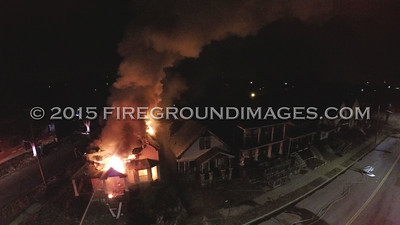 McGraw and 28th St. Dwelling Fire (Detroit, MI) 3/29/15