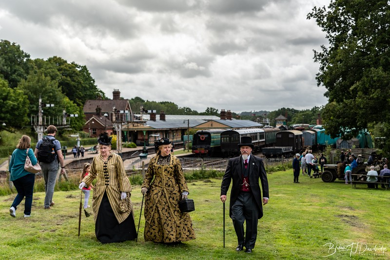 A Period Stroll at Horsted Keynes