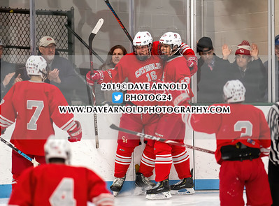 1/1/2020 - Boys Varsity Hockey - Catholic Memorial vs Needham