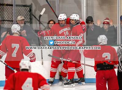 1/1/2020 - Boys Varsity Hockey - Catholic Memorial vs Needham