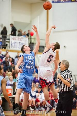 Basketball SHS vs SHHS 2-8-2013