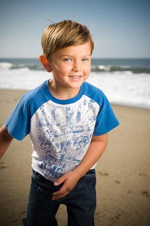 Grace and Ian (Family Photography, Seabright Beach, Santa Cruz, California)