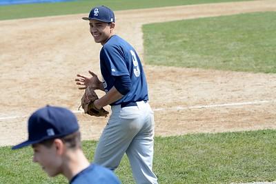 OE Soph. Baseball  Vs Metea Valley 2017