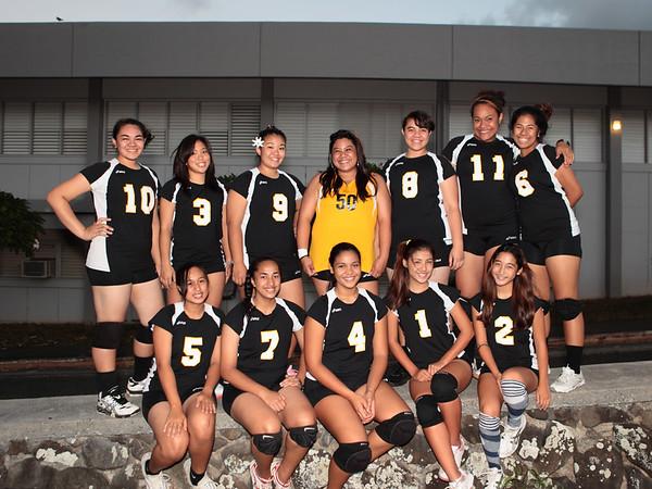 2009 Girls Varsity Volleyball