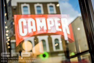 Camper Shoe Store, London