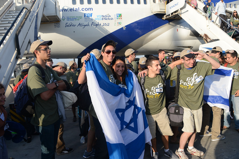 Nefesh B'Nefesh Summer 2012 Aliyah flight