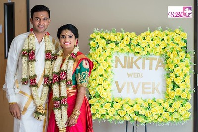 Gorgeous couple Nikita and Vivek!!