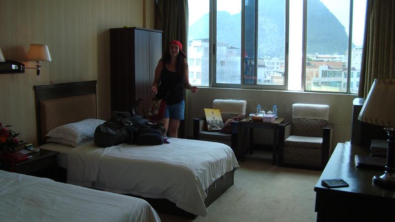 Tak wyglądały nasze pokoje,na zdjeciu Leah