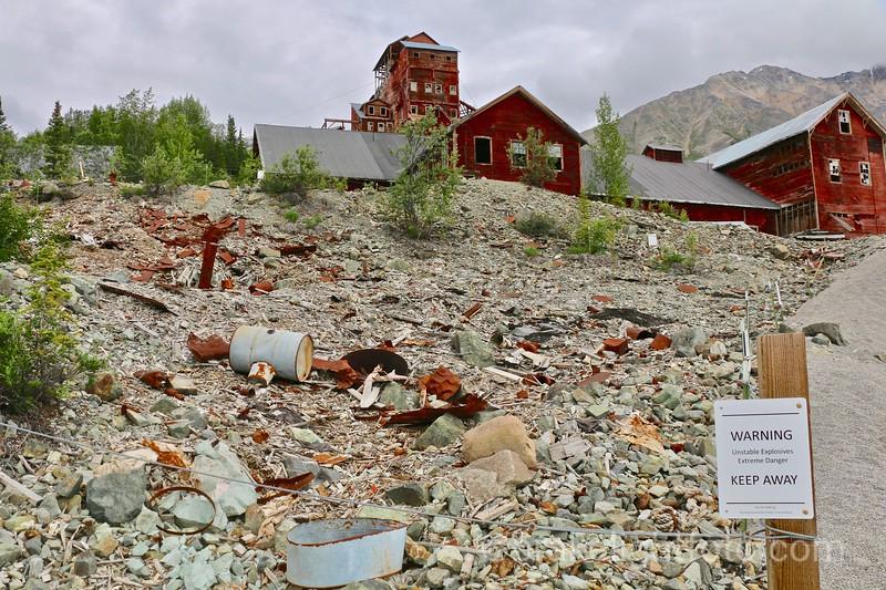 Dump behind North Sacking Shed