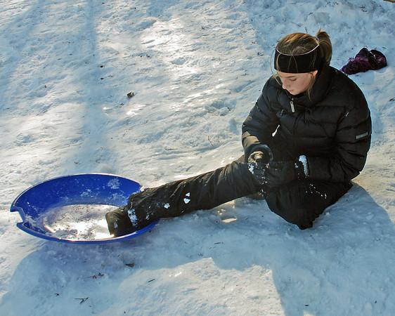 Silver Lake sledding