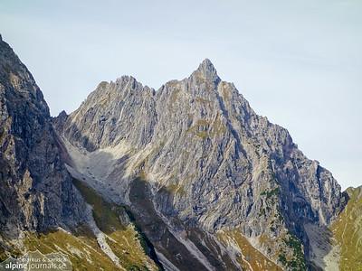 Kleiner Widderstein Traverse alpine climbing
