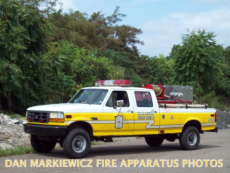HALIFAX FIRE CO. BRUSH 29 1994 FORD/HFC BRUSH UNIT