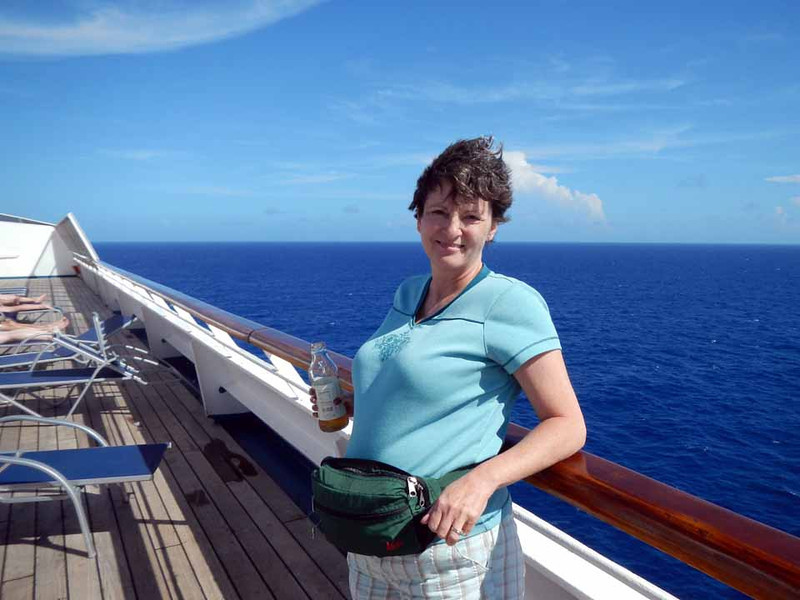 Full day at sea (Tuesday)