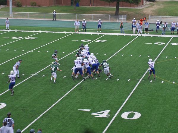 PG Football - FUMA vs Bethany College 9/26/08