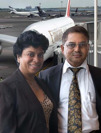 Aug 1, 2008 - Emirates Airline at New York JFK  Dubai A380