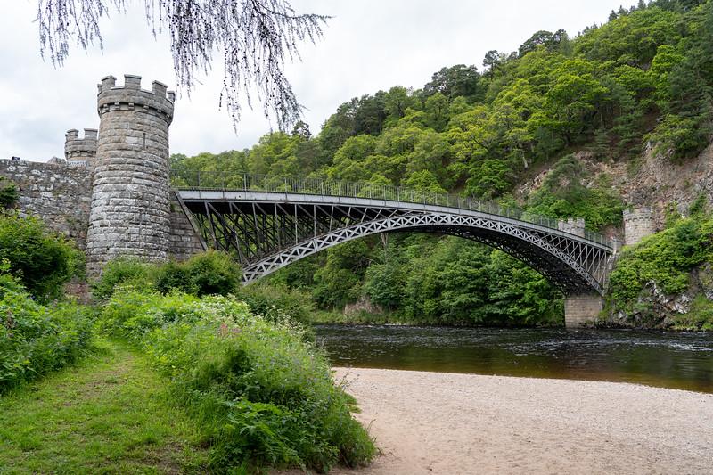 Craigellachie Bridge in Scotland