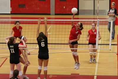 Girls Freshman Volleyball - 10/20/2009 Newaygo