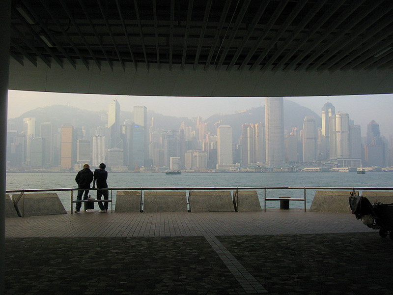 Hong Kong, from Kowloon Public Ferry Pier