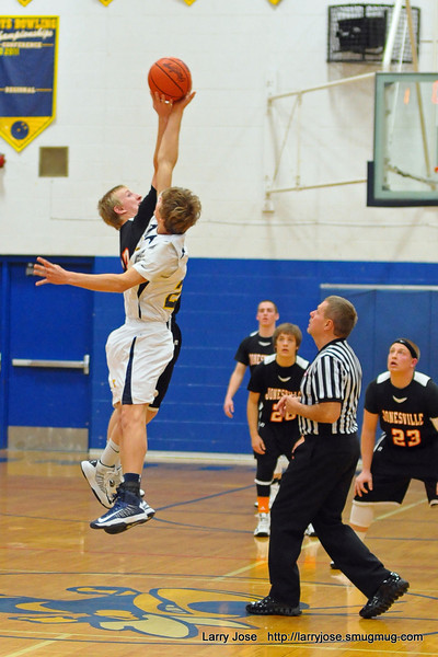 Jonesville vs Hillsdale Boys Basketball