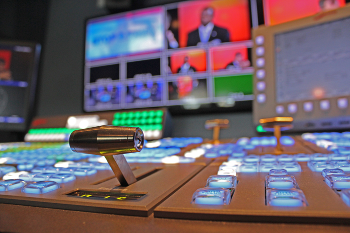 . A control panel.