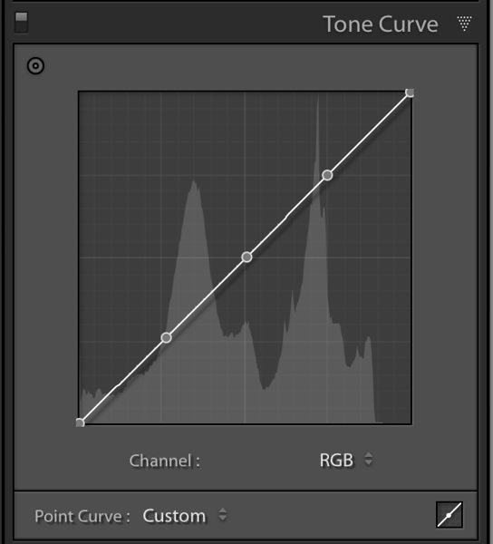 RGB Tone curve with anchor points