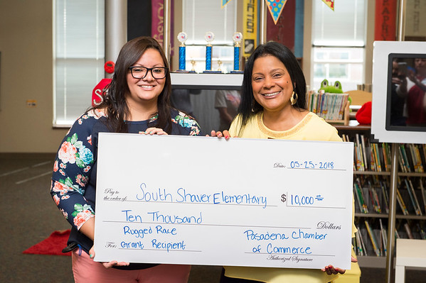 South Shaver Elementary Check Presentation