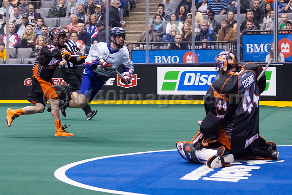 Buffalo Bandits @ Toronto Rock 18 Apr 2014