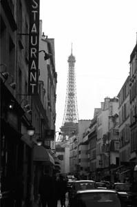 Paris, shot with film