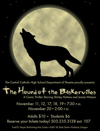 Fall 2011 - The Hound of the Baskervilles