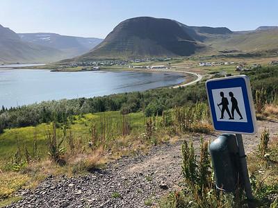 Dorpje naast Isafjordur