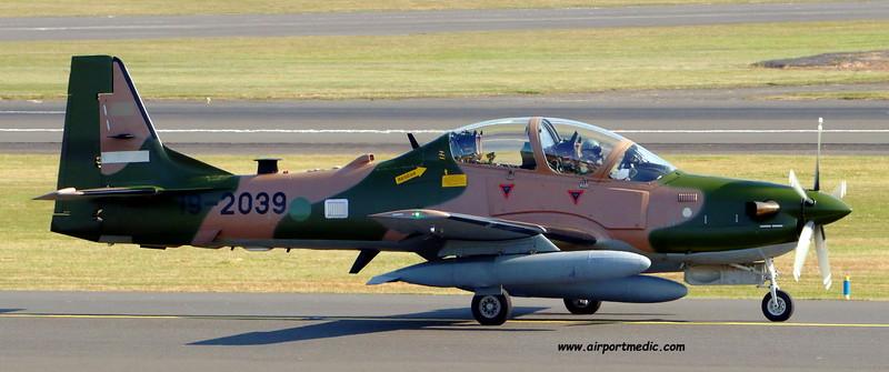 19-2039 A29 EMB314 Super Tucano Nigerian AF