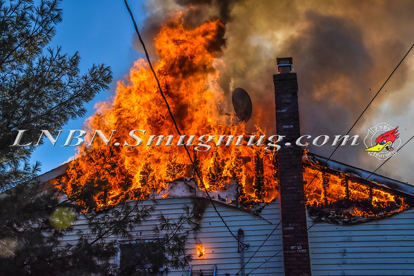 Massapequa F.D. House Fire 3 Willow Street 1-3-18