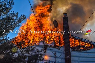 Massapequa F.D. House Fire 3 Willow Street 1-3-18