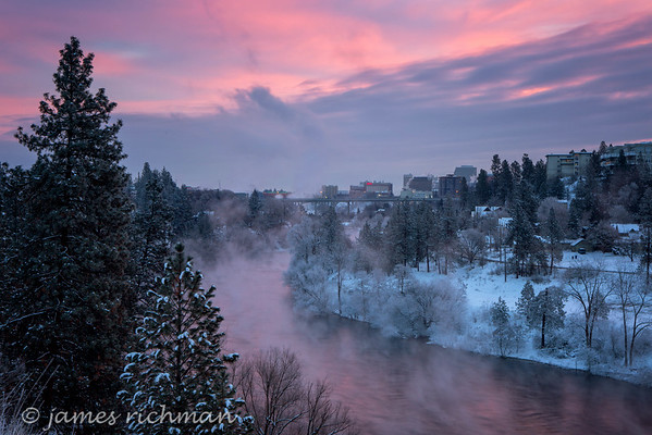 Spokane Winter Scenes 2015-16