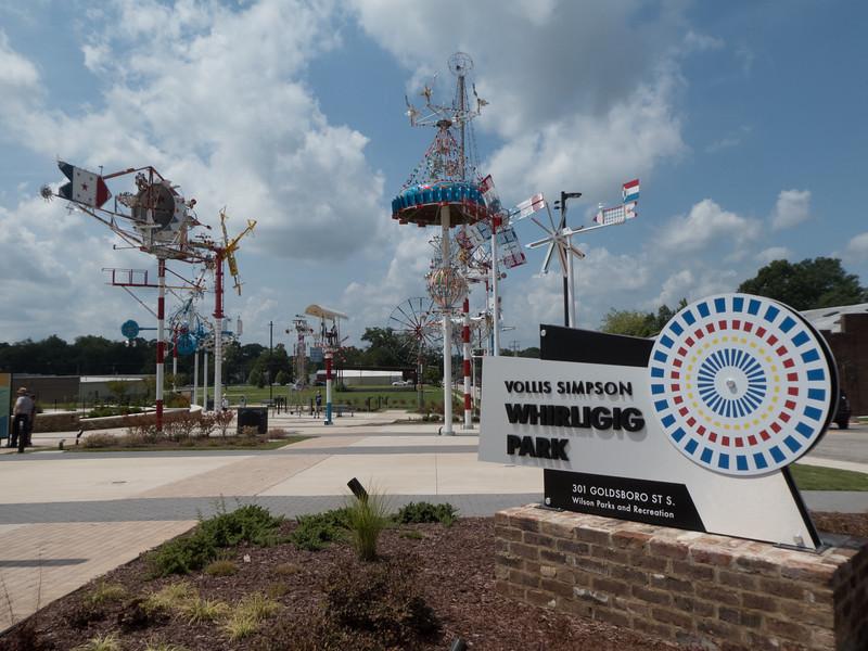 Vollis Simpson Whirligig Park. Wilson, NC