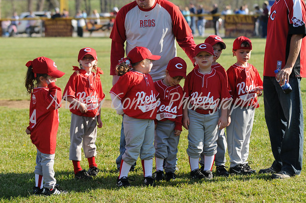 2009 Reds T-Ball-Opening Day