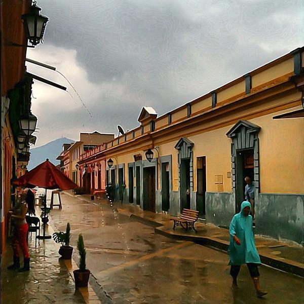 Good Friday in the rain, San Cristobal #Chiapas #Mexico