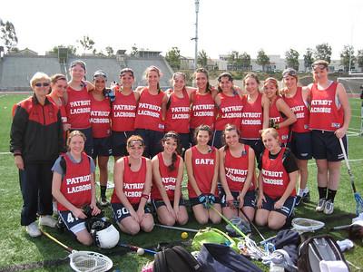 Girls Lacrosse 2009 Spring Break Trip - San Diego
