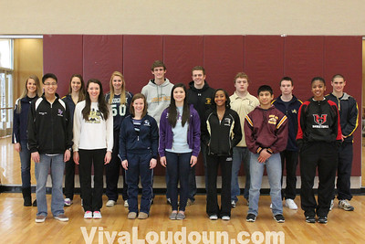 Cheers Athletes of the Month December 2011