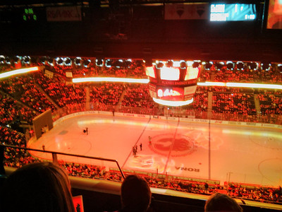 January 12 - Flames home opener