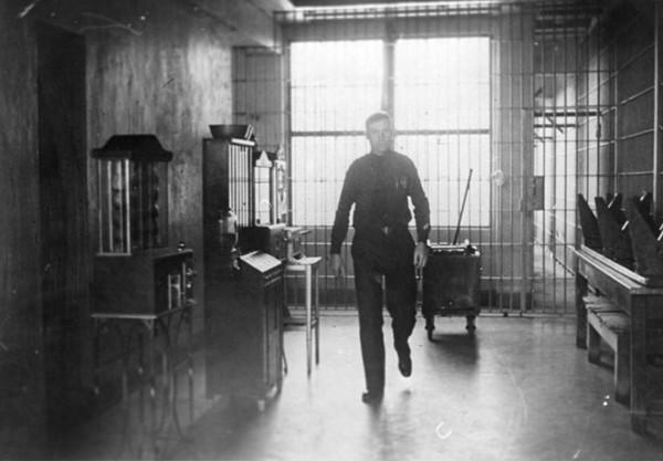 Officer on Second Floor