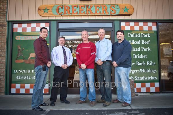 Progress - Creekers 03-01-12