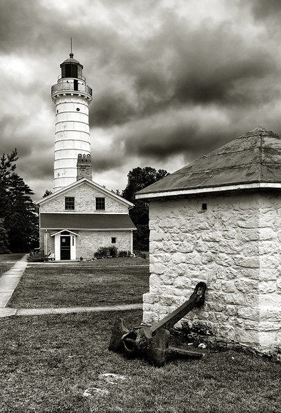 Stormy Light - Cana Island Lighthouse (Door County - Wisconsin)