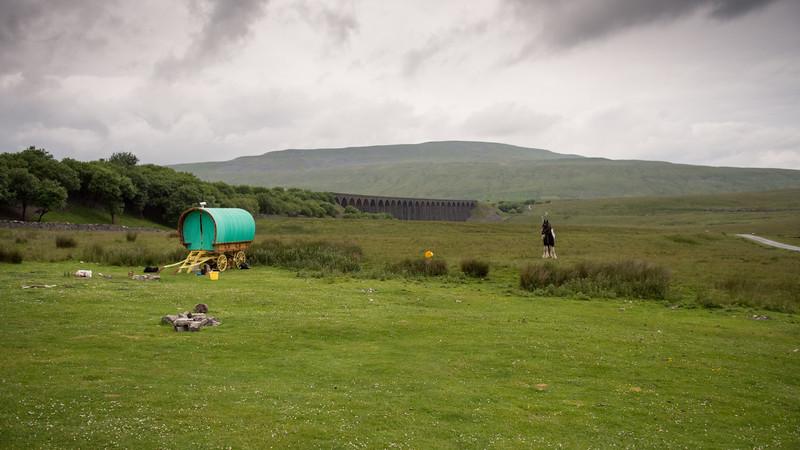 Caravan at Ribblehead