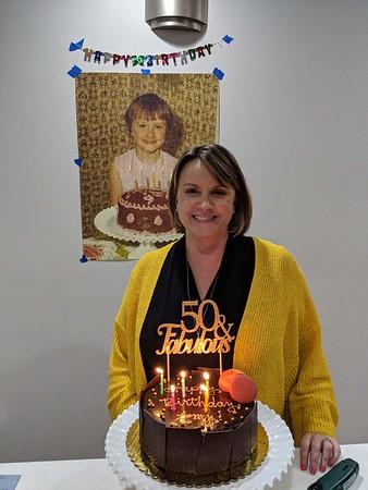 Amy's 50th Birthday - April