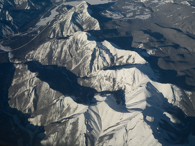 The Rockies from the air
