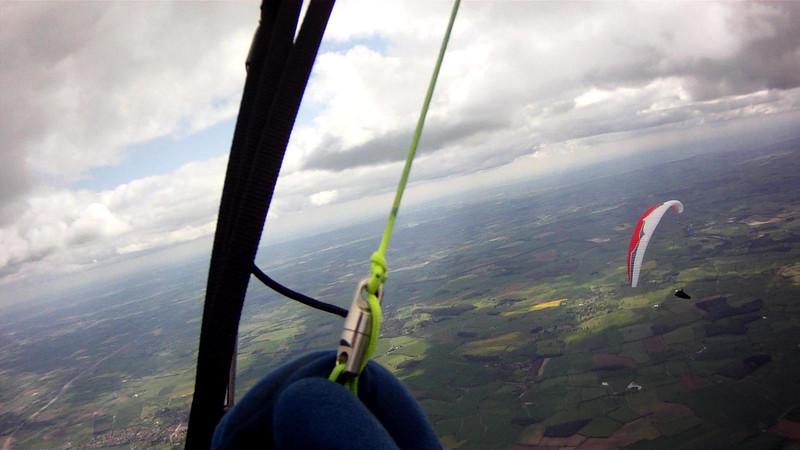 Glide to next climb just beyond Leyburn