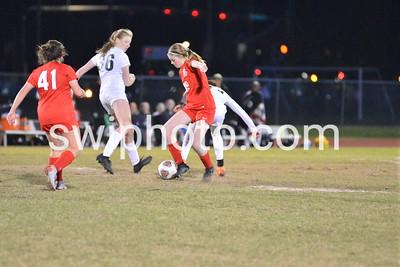 jv Girls Soccer (vs lincoln)